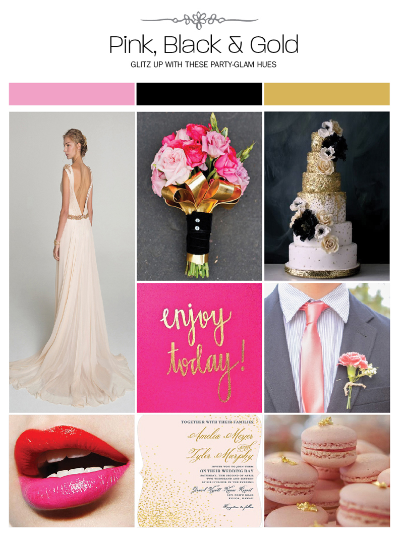 Pink-Black-and-Gold
