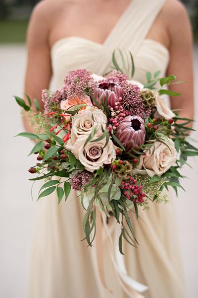 Fall Bouquet 7 protea-bouquet
