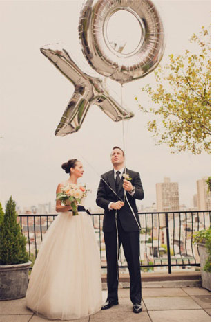 19 Ways to Bring Joy to Your Wedding With Balloons | Weddings Illustrated