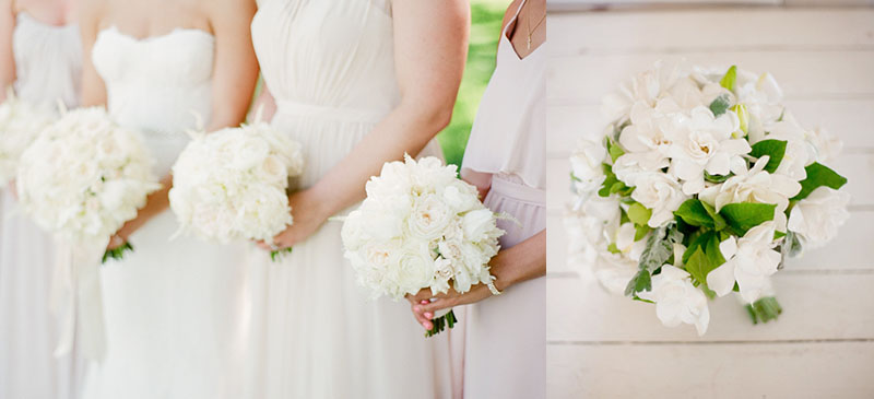 10 of Our Favorite Winter-White Bouquets | Weddings Illustrated